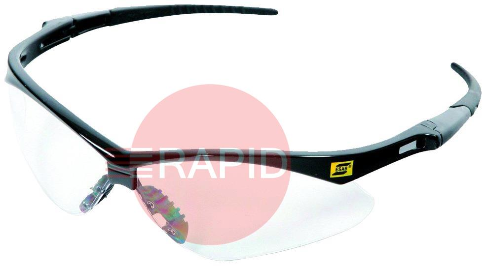 3000354  ESAB Warrior Clear Safety Spectacles