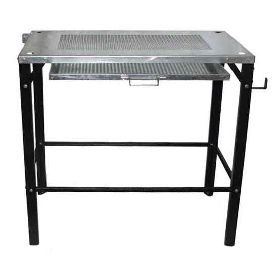 FUTMTABLE4  Futuris Portable Welding Table 100kg Capacity