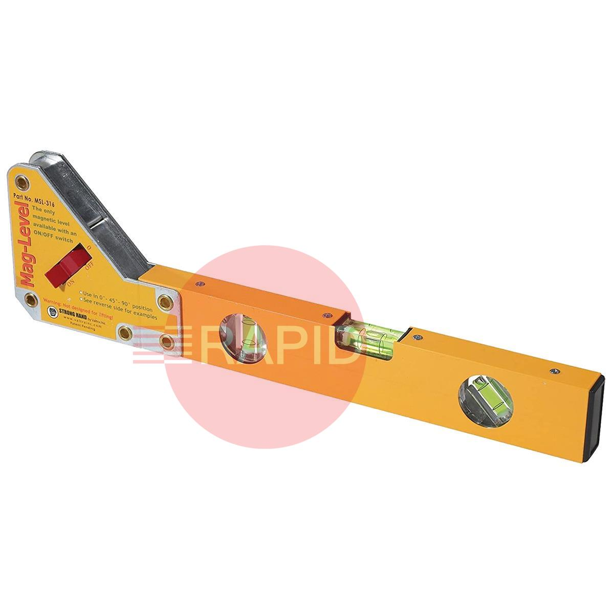 MSL-316  Mag-Level 40cm Magnetic Level with On/Off Switch