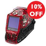 WELD-HMLTPROMO  10% Off Selected Welding Helmets
